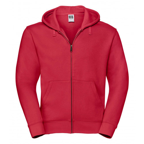 Russell Men´s Authentic Zipped Hood Classic Red