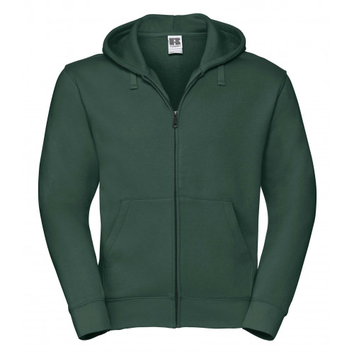 Russell Men´s Authentic Zipped Hood Bottle Green