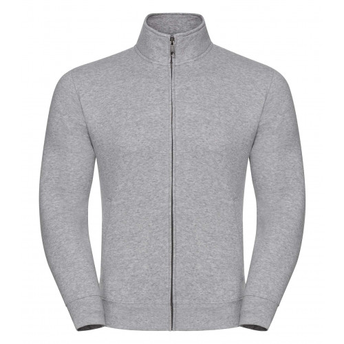 Russell Men´s Authentic Sweat Jacket Light Oxford