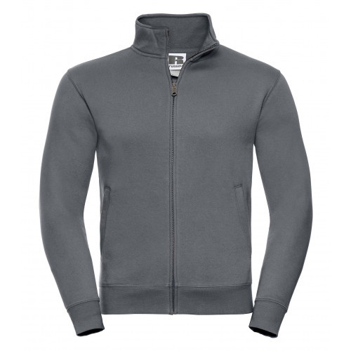 Russell Men´s Authentic Sweat Jacket Convoy Grey