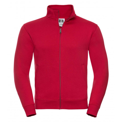 Russell Men´s Authentic Sweat Jacket Classic Red