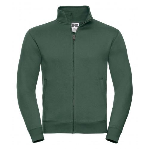 Russell Men´s Authentic Sweat Jacket Bottle Green