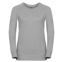 Russell Ladies´HD Raglan Sweat Silver Marl