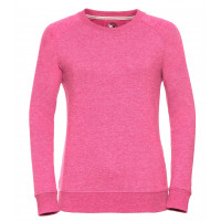 Russell Ladies´HD Raglan Sweat Pink Marl