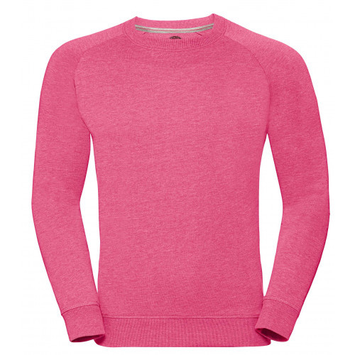 Russell Men´s HD Raglan Sweat Pink Marl