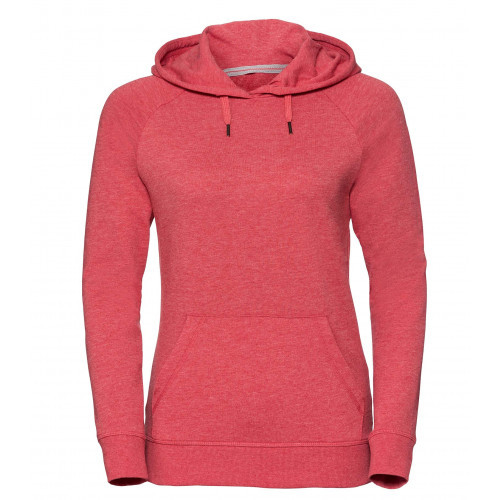 Russell Ladies´HD Hooded Sweat Red Marl