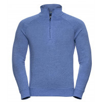 Russell Men´s HD Quarter Zip Sweat Blue Marl