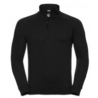 Russell Men´s HD Quarter Zip Sweat Black