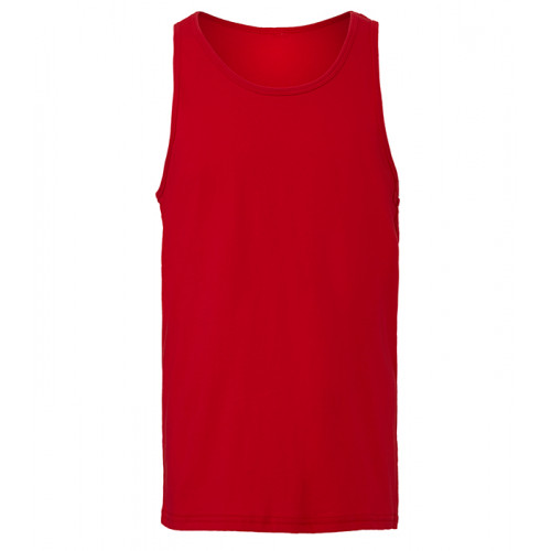 Bella Canvas Unisex Jersey Tank Red