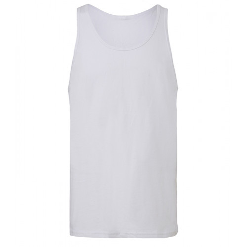 Bella Canvas Unisex Jersey Tank White