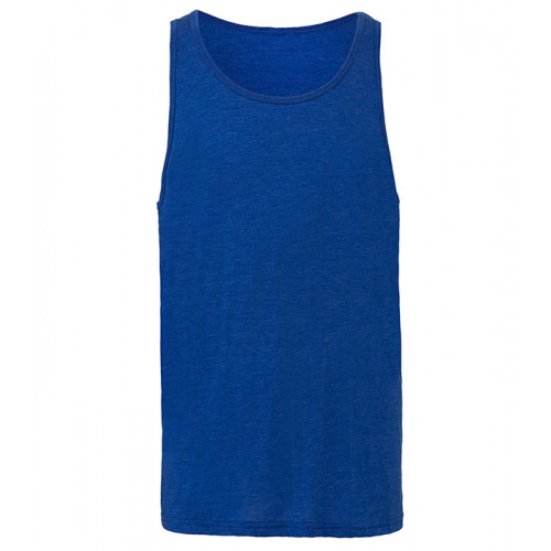 Bella Canvas Unisex Jersey Tank True Royal Triblend