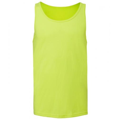 Bella Canvas Unisex Jersey Tank Neon Yellow 12