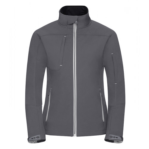 Russell Ladies Bionic Softshell Jacket Iron Grey