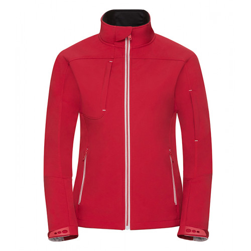 Russell Ladies Bionic Softshell Jacket Classic Red