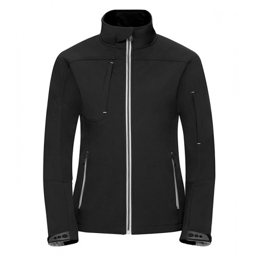 Russell Ladies Bionic Softshell Jacket Black