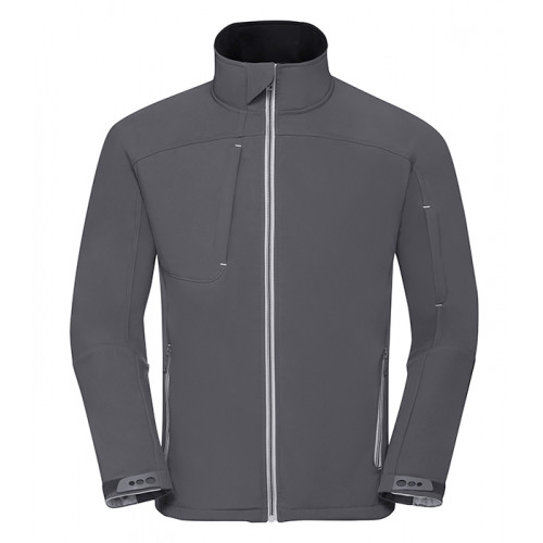 Russell Men´s Bionic Softshell Jacket Iron Grey