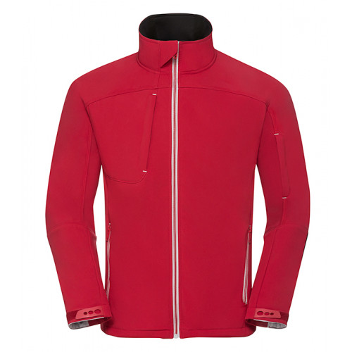 Russell Men´s Bionic Softshell Jacket Classic Red