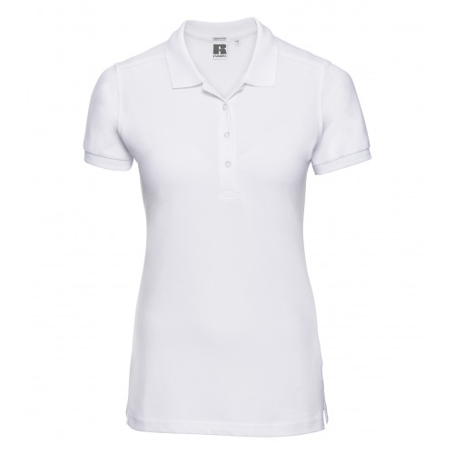Russell Ladies´ Stretch Polo White
