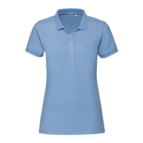 Russell Ladies´ Stretch Polo Sky