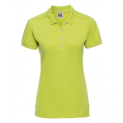 Russell Ladies´ Stretch Polo Lime