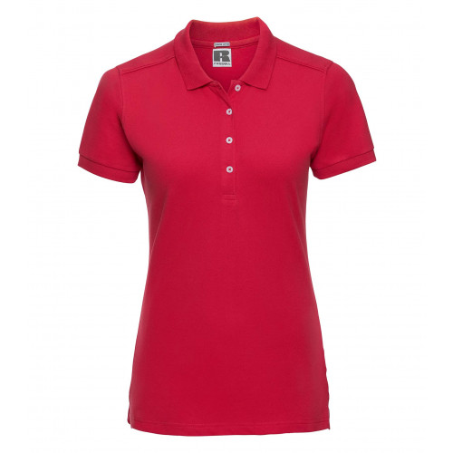 Russell Ladies´ Stretch Polo Classic Red