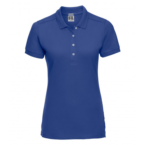 Russell Ladies´ Stretch Polo Bright Royal