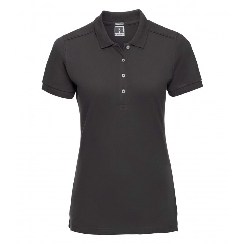 Russell Ladies´ Stretch Polo Black