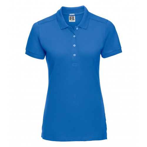 Russell Ladies´ Stretch Polo Azure Blue