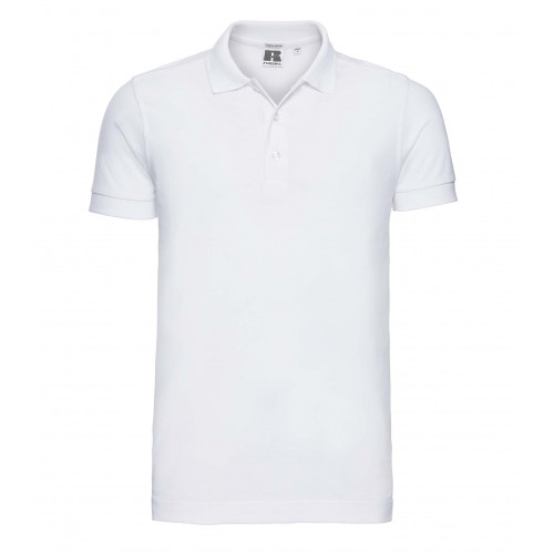 Russell Men´s Stretch Polo White