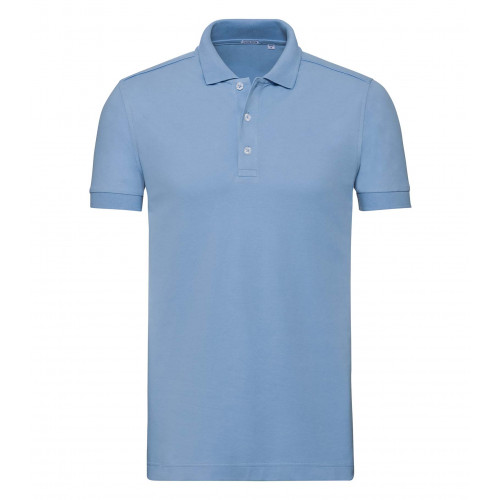 Russell Men´s Stretch Polo Sky