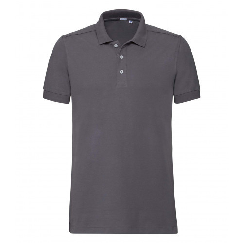 Russell Men´s Stretch Polo Convoy Grey