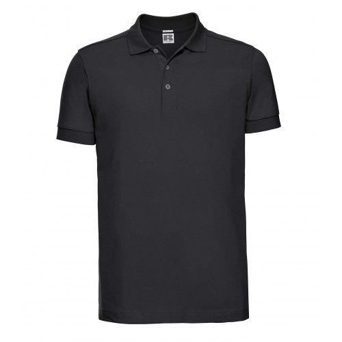 Russell Men´s Stretch Polo Black