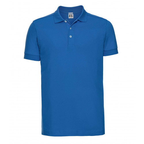 Russell Men´s Stretch Polo Azure Blue