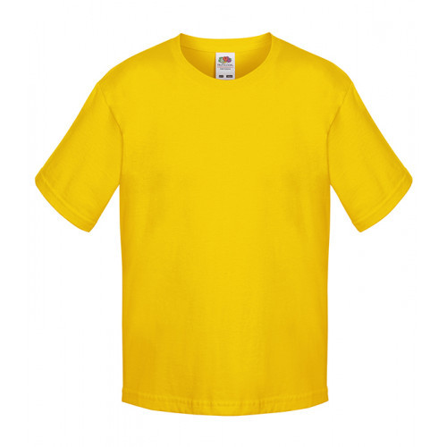 Fruit of the loom Kids Sofspun T Sunflower
