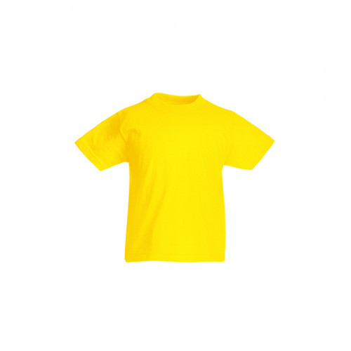 Fruit of the loom Kids Original T Yellow