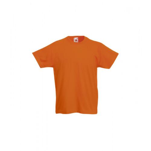 Fruit of the loom Kids Original T Orange