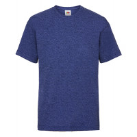 Fruit of the loom Kids Valueweight T Heather Royal