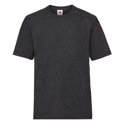 Fruit of the loom Kids Valueweight T Dark Heather Grey