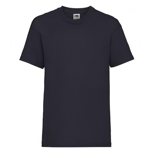 Fruit of the loom Kids Valueweight T Deep Navy