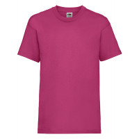 Fruit of the loom Kids Valueweight T Fuchsia