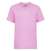 Fruit of the loom Kids Valueweight T Pink