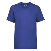 Fruit of the loom Kids Valueweight T Royal