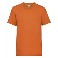 Fruit of the loom Kids Valueweight T Orange