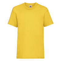 Fruit of the loom Kids Valueweight T Sunflower