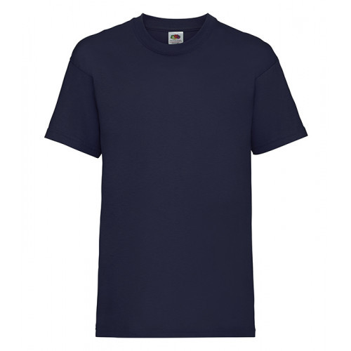 Fruit of the loom Kids Valueweight T Navy