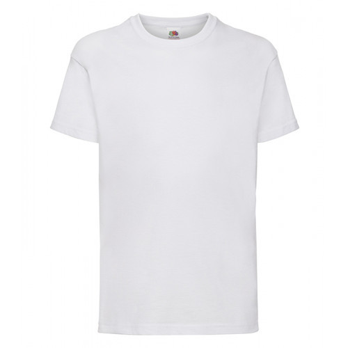 Fruit of the loom Kids Valueweight T White
