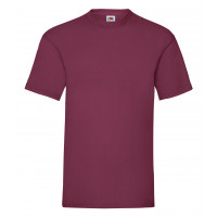 Fruit of the loom Valueweight Tee Burgundy