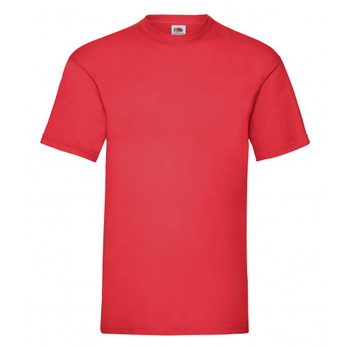 Fruit of the loom Valueweight Tee Red