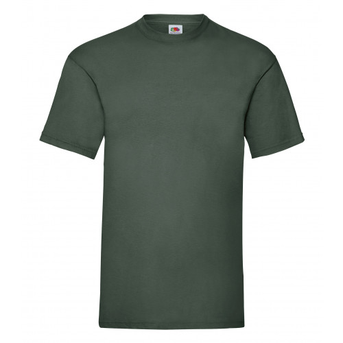 Fruit of the loom Valueweight Tee Bottle Green