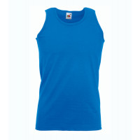 Fruit of the loom Athletic Vest Royal Blue